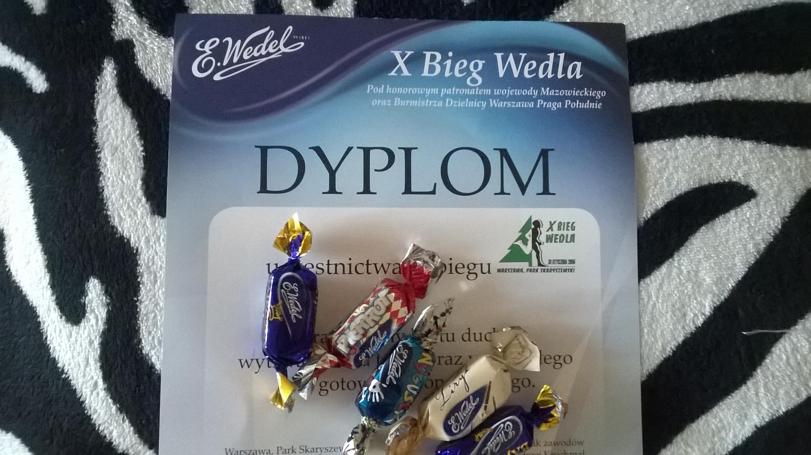 X Bieg Wedla, iście słodki!