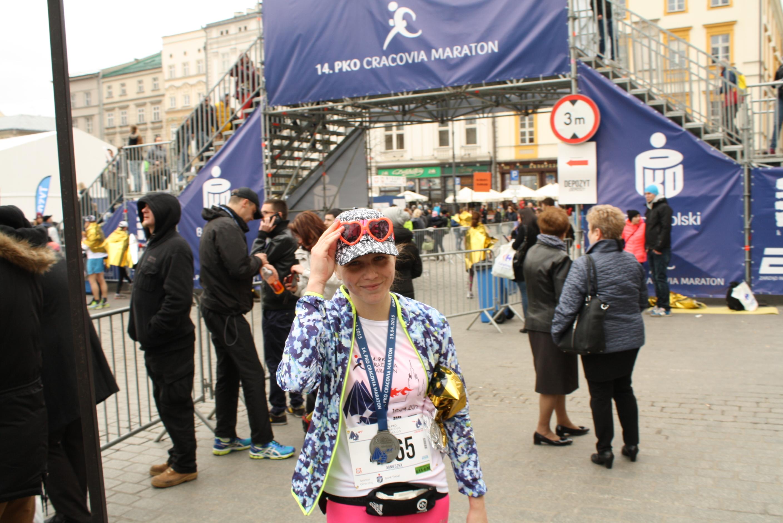 14. PKO Cracovia Maraton, z wiatrem i pod wiatr.
