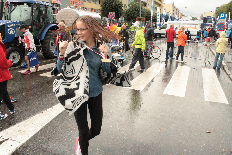 Deszczowy półmaraton w Pile z ciepłymi wspomnieniami.