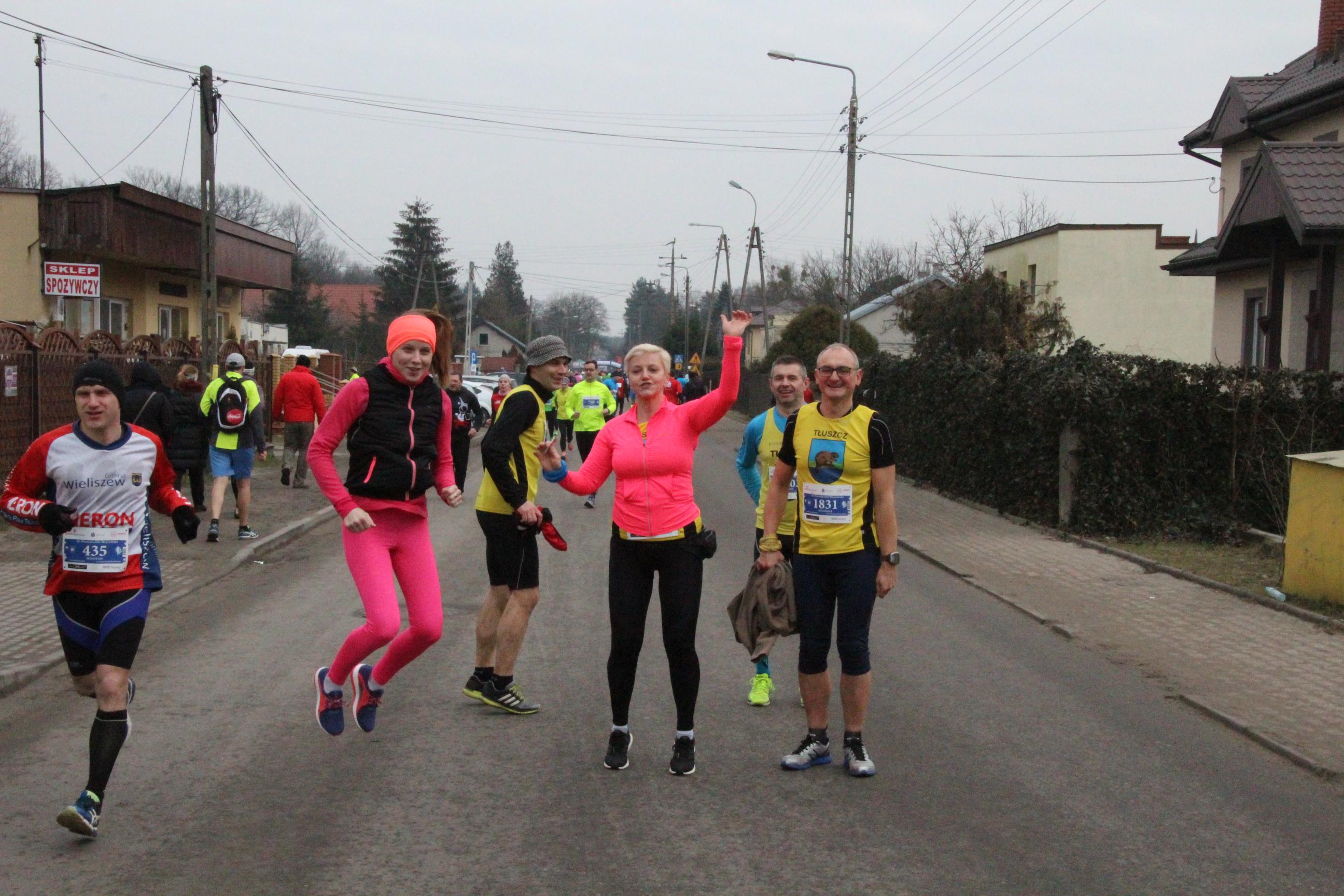 Półmaraton Wiązowski na dobre zakończenie miesiąca.