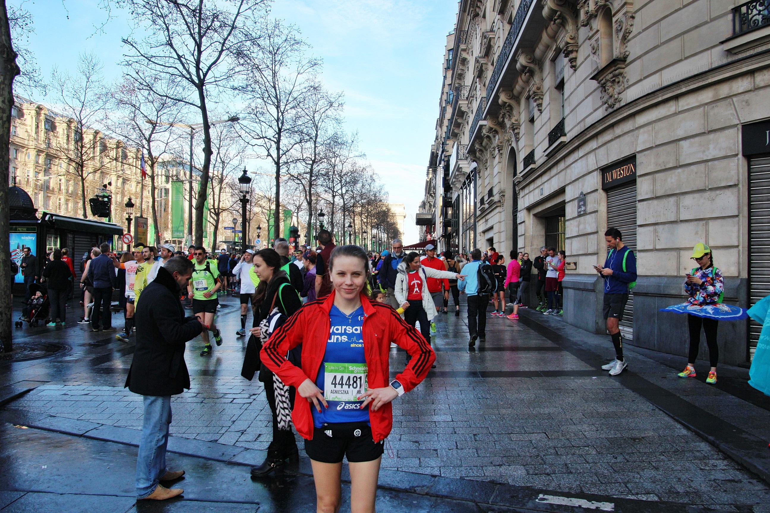 Paris Marathon, przeżycie tak wielkie jak wielki jest jego rozmach.