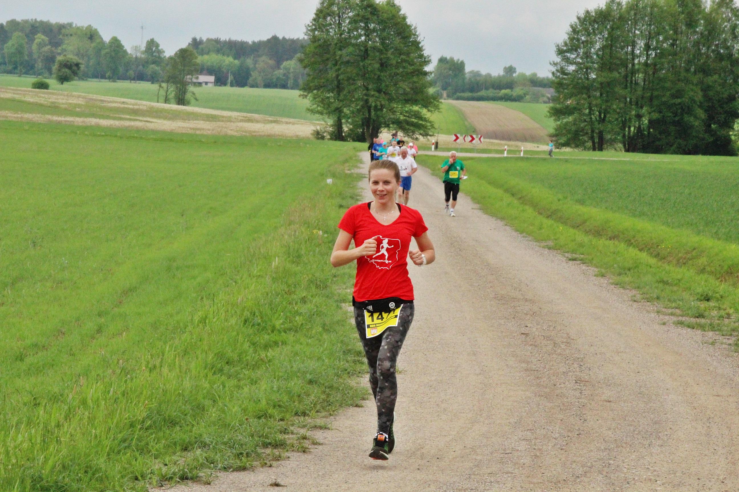 Bieganie w gminie Szelków. Relacja z biegu okiem miłośniczki domowej atmosfery.