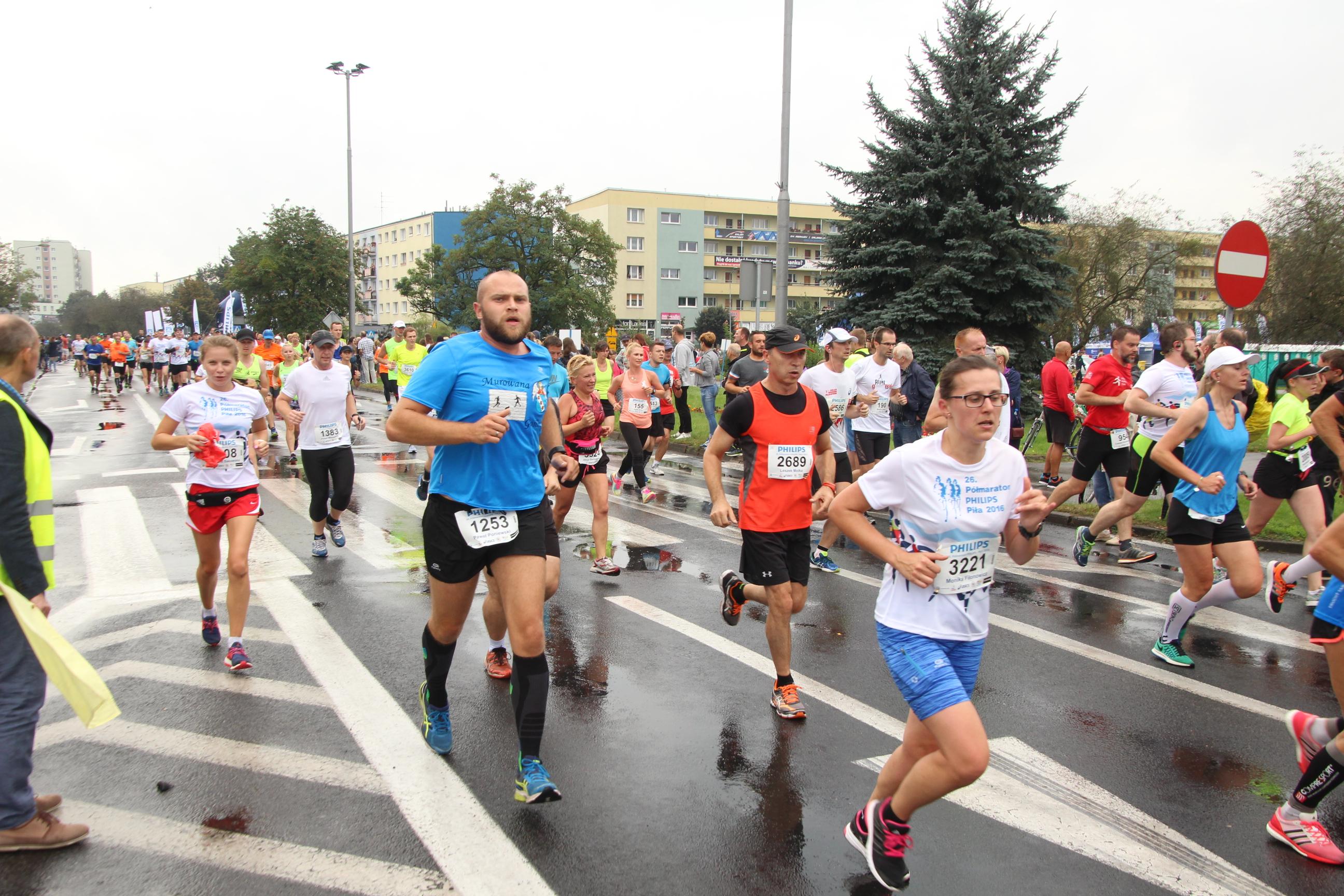 26. półmaraton w Pile, wymarzony początek września.